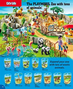 Panda offers in the Playmobil catalogue in London