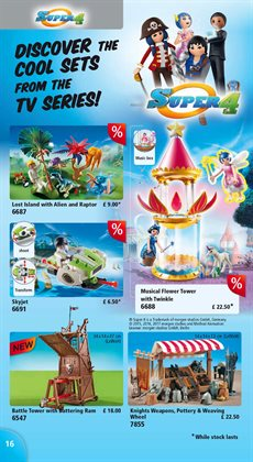 Transformers offers in the Playmobil catalogue in London
