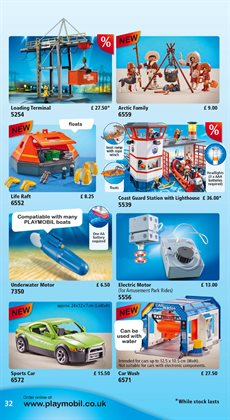 Cars offers in the Playmobil catalogue in London