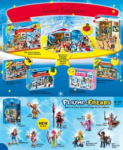 Christmas decoration offers in the Playmobil catalogue in London