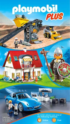 Christmas offers in the Playmobil catalogue ( More than a month)