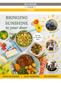 Wiltshire Farm Foods offers in the Wiltshire Farm Foods catalogue ( More than a month)