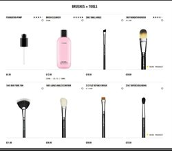 Brushes offers in the MAC Cosmetics catalogue in London