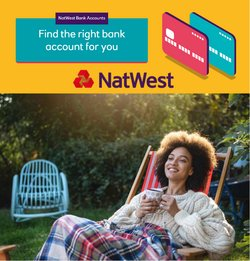 Banks offers in the Natwest catalogue ( 1 day ago )
