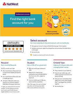 Banks offers in the Natwest catalogue ( 7 days left)