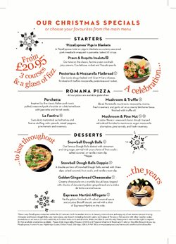 Pizza Express offers in the London catalogue