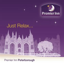 Premier Inn offers in the London catalogue