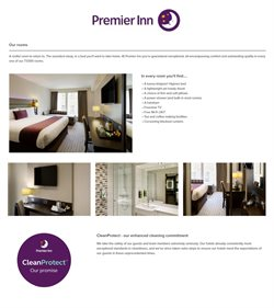 Travel offers in the Premier Inn catalogue ( More than a month )