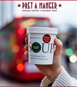 Pret A Manger offers in the London catalogue