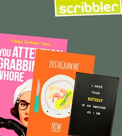 Scribbler offers in the London catalogue