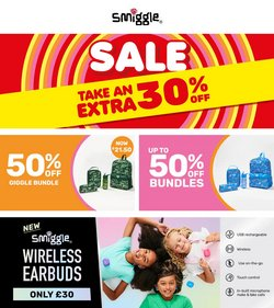 Toys & Babies offers in the Smiggle catalogue ( 7 days left)