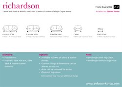 Cushions offers in the Sofa Workshop catalogue in London
