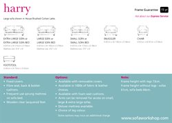 Sofa offers in the Sofa Workshop catalogue in London