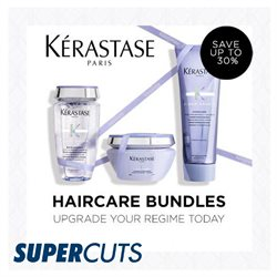 Pharmacy, Perfume & Beauty offers in the SuperCuts catalogue in Bristol ( Expires today )