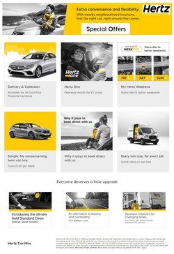 Cars, Motorcycles & Spares offers in the Hertz catalogue in Woburn Sands ( 2 days ago )
