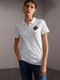 Women's polo shirt offers in the Burberry catalogue in London