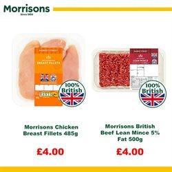 Chicken offers in the Morrisons catalogue in London