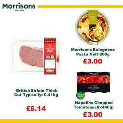 Pasta offers in the Morrisons catalogue in Leicester