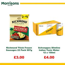 Water offers in the Morrisons catalogue in London