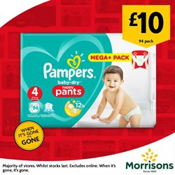 Baby offers in the Morrisons catalogue in London