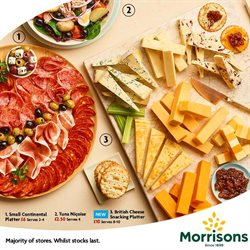 Cheese offers in the Morrisons catalogue in Sale