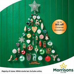Supermarkets offers in the Morrisons catalogue in Bushey