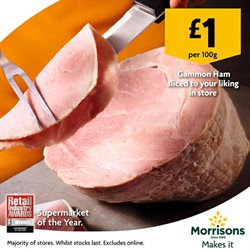Supermarkets offers in the Morrisons catalogue in Greenwich