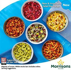 Supermarkets offers in the Morrisons catalogue in Cannock