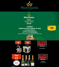 Black Friday offers in the Morrisons catalogue ( 1 day ago)