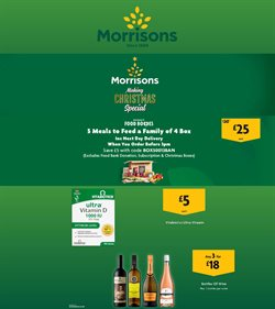 Supermarkets offers in the Morrisons catalogue in Sutton Coldfield ( Expires tomorrow )