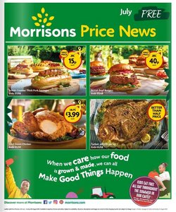Supermarkets offers in the Morrisons catalogue ( 5 days left)