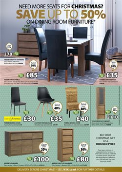 Table offers in the JYSK catalogue in London