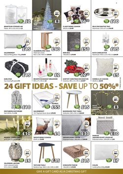 Christmas decoration offers in the JYSK catalogue in London