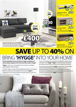 Sofa bed offers in the JYSK catalogue in London