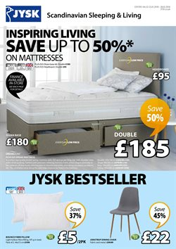 JYSK offers in the London catalogue