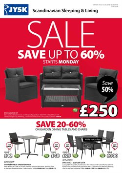 Home & Furniture offers in the JYSK catalogue in York