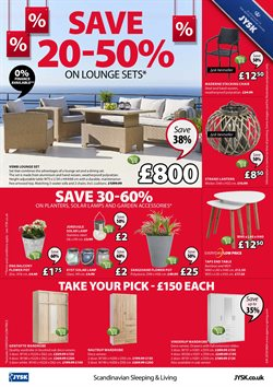 Lamp offers in the JYSK catalogue in York