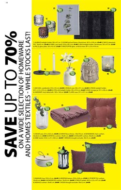 Wallpaper offers in the JYSK catalogue in London