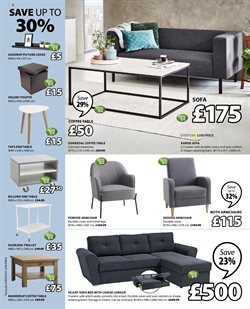 Sofa offers in the JYSK catalogue in London