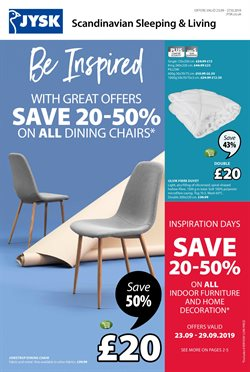 Home & Furniture offers in the JYSK catalogue in Lincoln