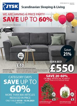 Home & Furniture offers in the JYSK catalogue ( 3 days left)