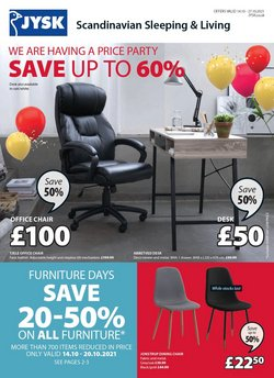 Home & Furniture offers in the JYSK catalogue ( Expires today)