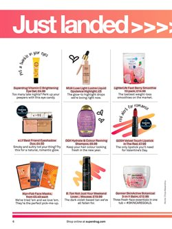 Gel offers in the Superdrug catalogue in London