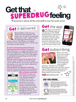 Pharmacy offers in the Superdrug catalogue in London