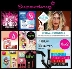 Pharmacy, Perfume & Beauty offers in the Superdrug catalogue in Tower Hamlets
