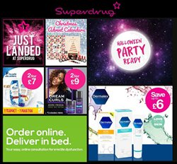Pharmacy, Perfume & Beauty offers in the Superdrug catalogue in Barking-Dagenham