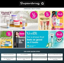 Offers of Skin care in Superdrug