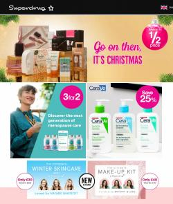 Pharmacy, Perfume & Beauty offers in the Superdrug catalogue ( Published today)