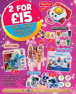 Barbie dolls offers in the Toys R Us catalogue in London
