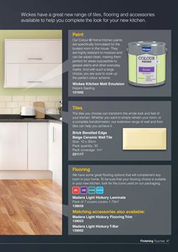 Tiles offers in the Wickes catalogue in London